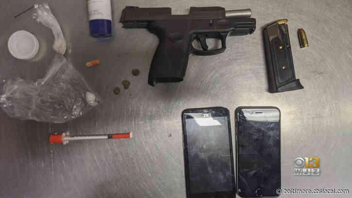 Anne Arundel County Police: Drugs, Handgun Found In Vehicle In Glen Burnie