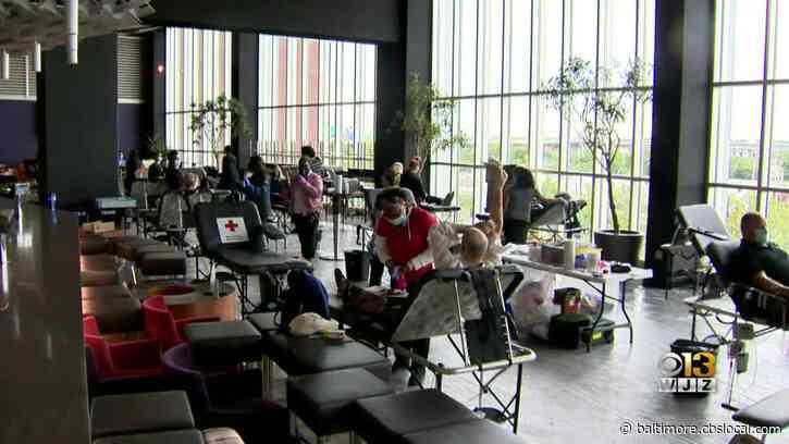 Baltimore Ravens, American Red Cross Team Up To Host Blood Drive Amid Coronavirus Pandemic