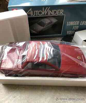 Kinyo AutoWinder AW-600A VHS Rare Red car
