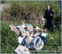 Polícia Militar recupera carga dos Correios roubada no Monte Alegre, em Cabo Frio - Plantão dos Lagos