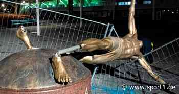 Zlatan Ibrahimovic: Statue des Milan-Stars in Malmö soll versetzt werden - SPORT1