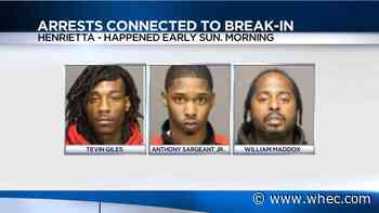3 arrested after AT&T store break-in