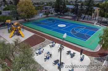 Concluyen trabajos de mejoramiento y rehabilitación del recreativo en El Rosario - Códice Informativo