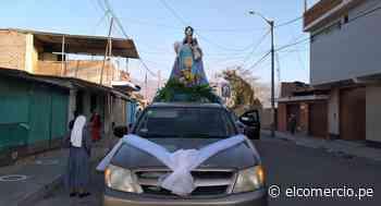 Áncash: realizan procesión sin público de la Virgen del Rosario para pedir el fin del COVID-19 - El Comercio Perú