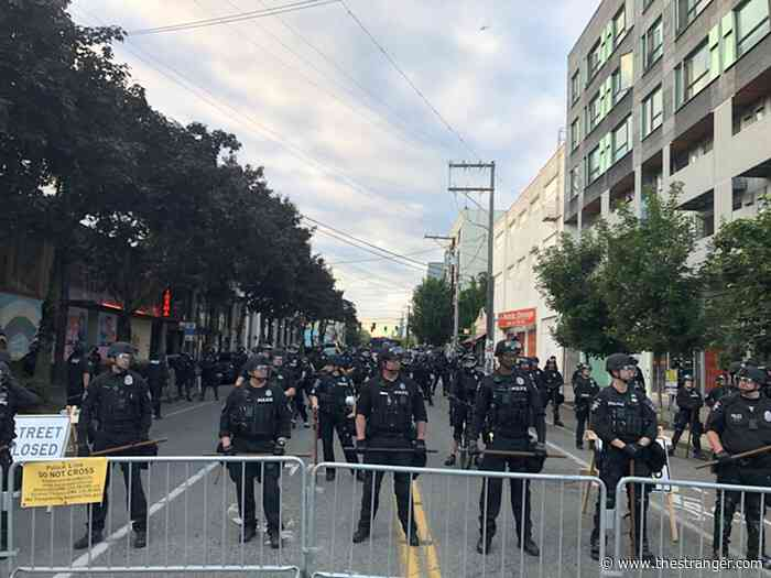 Slog PM: A Fifth Day of Protests; Durkan Will Meet with Organizers Tomorrow, Can't Say There Won't Be Tear Gas Tonight