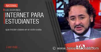Andrés Michelena comenta sobre avances en conectividad de internet - Teleamazonas
