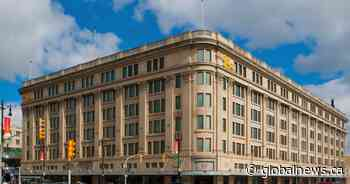 Hudson's Bay should invite more retailers to fill space in iconic Winnipeg building: Business expert - Globalnews.ca