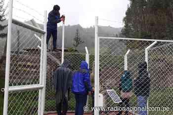 Pomabamba ya cuenta con estación pluviométrica que alertará peligro de lluvias - Radio Nacional del Perú