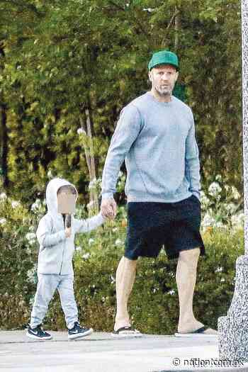 Jason Statham steps out for fresh air with son Jack - The Nation