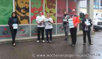"""""""Wir wollten etwas weitergeben"""" / BRK Dachau erhält 2.000 Mundschutzmasken - 02.06.2020 - Wochenanzeiger München"""