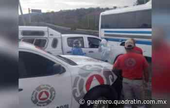 Muere pasajero de autobús por presunto Covid 19 rumbo a Tixtla - Quadratín Michoacán