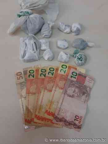 Polícia prende suspeitos de tráfico de drogas em casa de Jaru - Diário da Amazônia