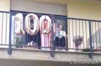 Villasanta, auguri speciali (sul balcone) per nonna Alessandrina che compie 100 anni - Giornale di Monza