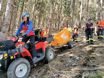 Waldhaus Schmalkalden: Schwerverletzter Wanderer geborgen - inSüdthüringen