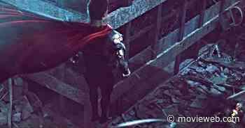 Superman's Showdown with Black Adam Comes to Life in Latest BossLogic Art