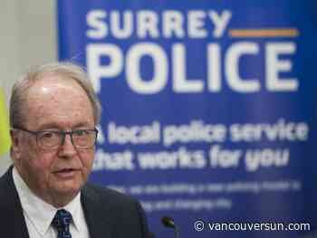 Surrey mayor apologizes to RCMP after murder accusation on party's Twitter page
