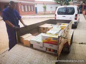 El banco de alimentos recibe una aportación realizada a través de la cuenta Villarrobledo Compromiso para asistir a familias con necesidades - Villarrobledodiario.com