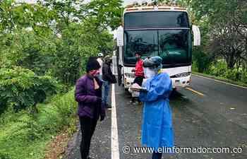 Salud pública de El Banco ejerce seguimiento a viajeros procedentes de Bogotá - El Informador - Santa Marta