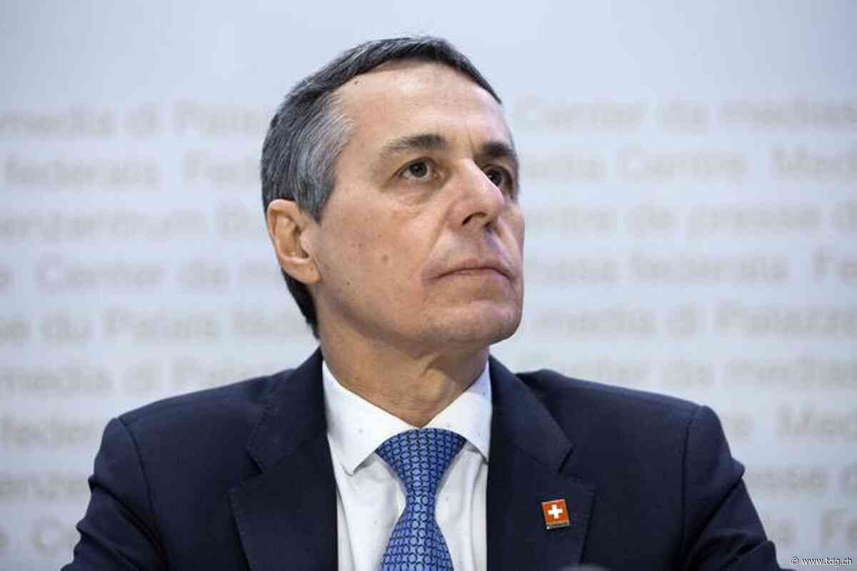 Moyen-Orient – Ignazio Cassis appelle Palestiniens et Israéliens à reprendre le dialogue - Tribune de Genève
