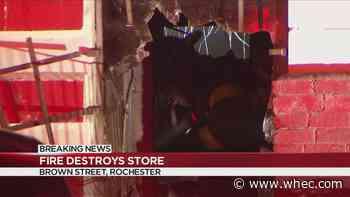 Business fire on Brown Street deemed suspicious