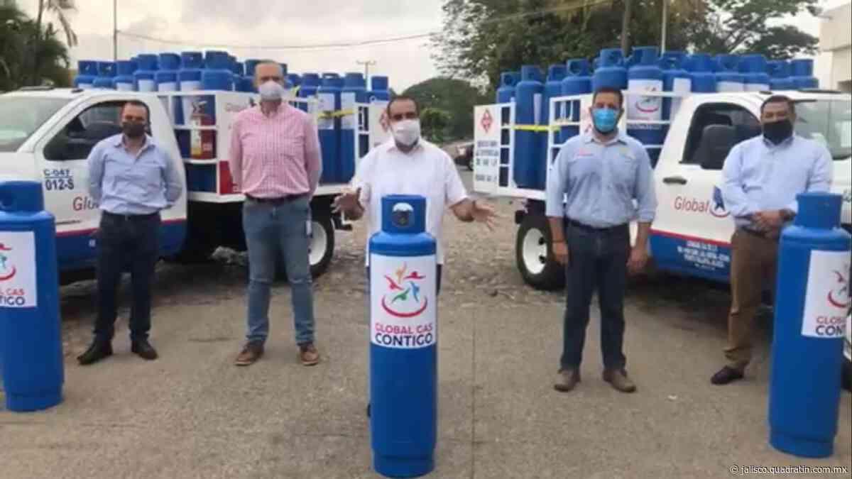 Donan Gas LP a comedores comunitarios de Puerto Vallarta - Quadratín Michoacán