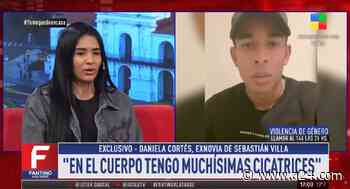 "Daniela Cortés en ""Fantino a la tarde"": ""Sebastián Villa me agarraba del pelo y me daba puños"" - A24.com"