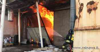 Incendio in un capannone di San Giovanni al Natisone - TGR Friuli Venezia Giulia - TGR – Rai