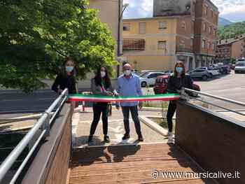 Aperti i due ponti in legno sul Turano, si potrà attraversare Carsoli a piedi o in bici - MarsicaLive