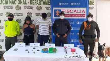 Capturadas dos personas en Paz De Ariporo por porte de Estupefacientes - Noticias de casanare - La Voz De Yopal