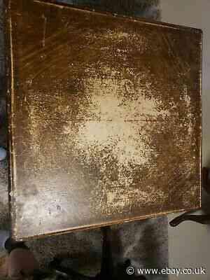 Antique Shwayder Brother Inc. Samson Card Table