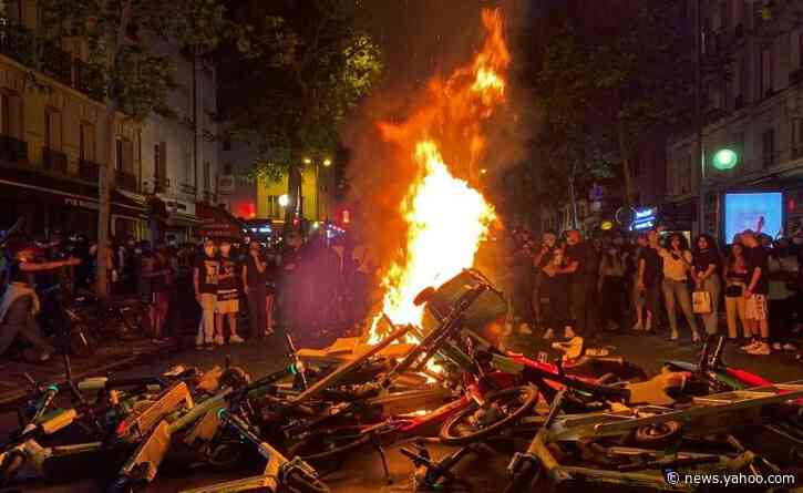 Clashes at Paris protest against racism and deadly police violence