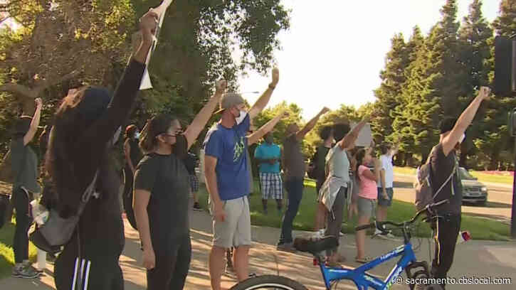 Peaceful Protestors Step Up In Fairfield After Violent Looting