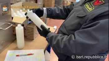 Trani, gel igienizzante taroccato venduto in tutta Italia: denunciate due persone per frode in commercio - La Repubblica