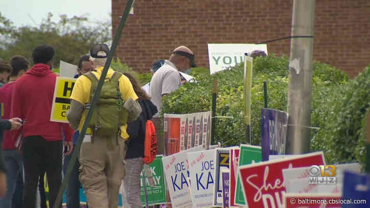 Voters Wait For Hours, Polls Close Late For Marylanders To Cast Primary Election Ballots