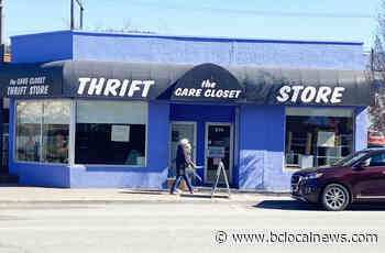 Shoppers line up hours early for reopening of Penticton's Care Closet Thrift Store - BCLocalNews