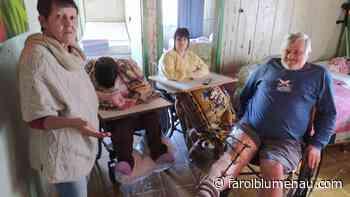 Família pede ajuda para cuidar das gêmeas com deficiência de Blumenau - Farol Blumenau