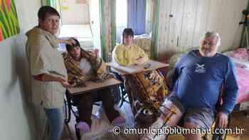 VÍDEO: Família de Blumenau pede ajuda para reconstruir casa e manter despesas médicas - O Município Blumenau