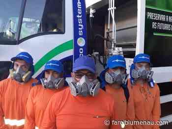 Empresa de limpeza urbana inicia trabalhos no dia 8 em Blumenau - Farol Blumenau