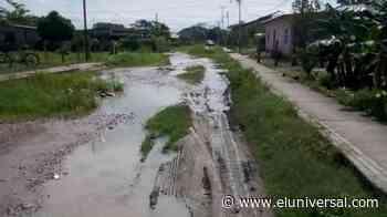 Lluvias dejaron inservibles calles de los barrios en Santa Rosa de Barinas - El Universal (Venezuela)
