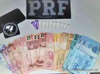 Senhor do Bonfim: Motorista é preso ao dirigir embriagado e com cocaína na cueca - Voz da Bahia