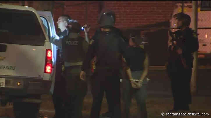 Police Enforcing Curfew In Sacramento, Several Arrests Made
