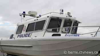 Two men rescued on Lake Simcoe in rubber dinghy, one charged - CTV News