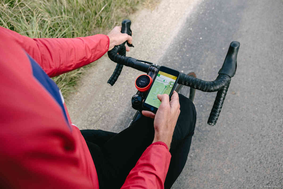 Fietsroute-app gebruikt de ruimte voor fietsers