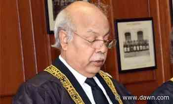 Covidiots in courtroom irk chief justice - DAWN.com