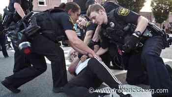 'Agitators' mar peaceful protests in Fredericksburg, leading to arrests - Fredericksburg.com