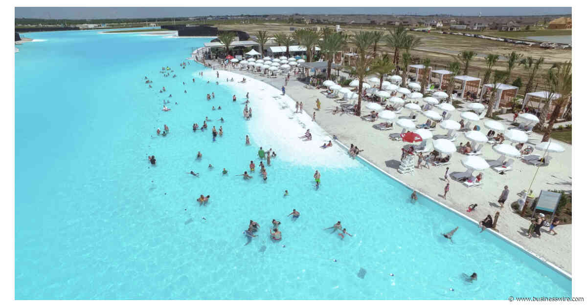 Lago Mar Residents Get Peek at America's Largest Crystal Lagoons® Amenity By Length - Business Wire