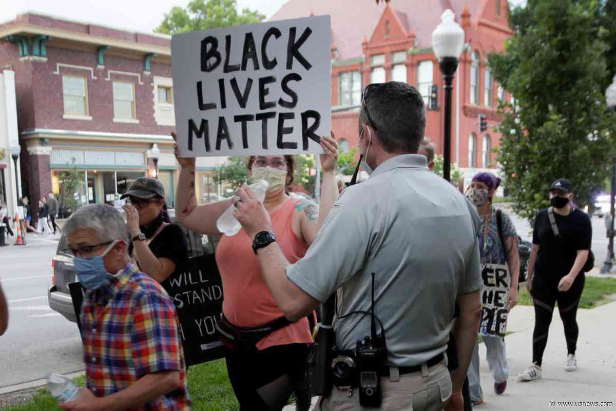 Arrests in Topeka, Wichita Mar Peaceful Protests in Kansas - U.S. News & World Report