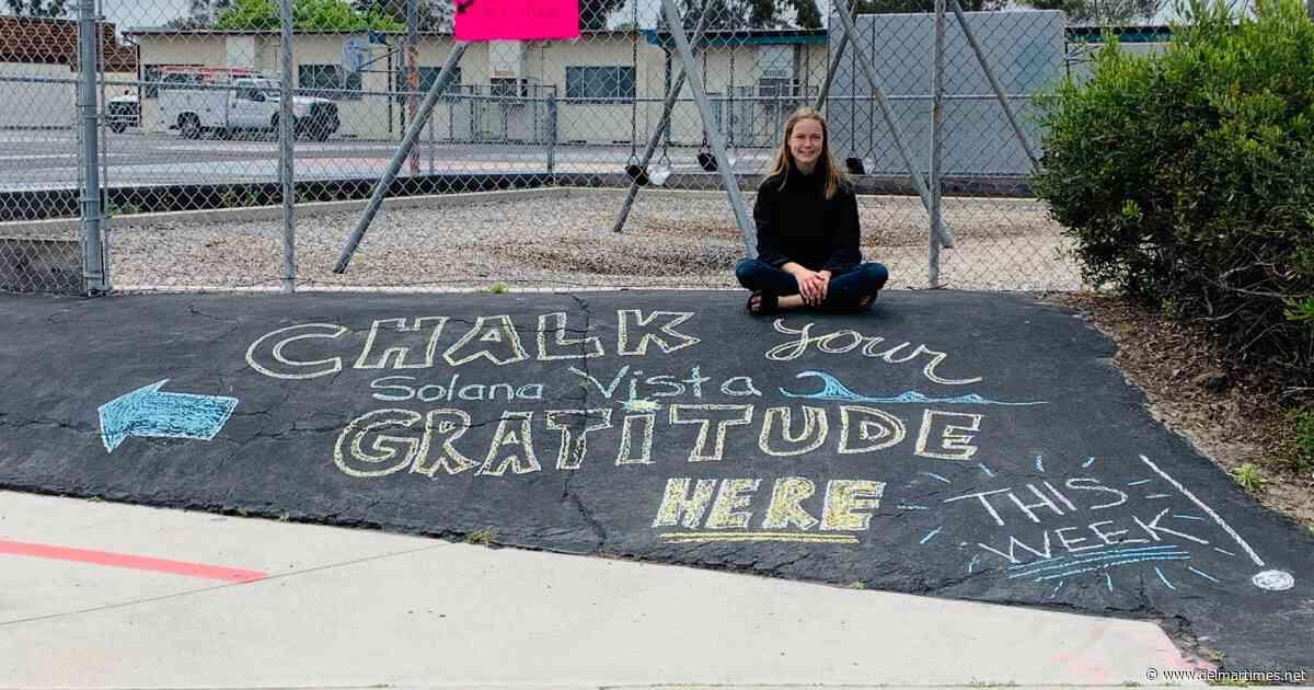 Former Solana Vista student launched grassroots goodbye effort - Del Mar Times