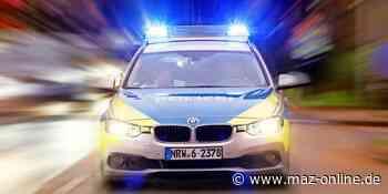 Polizeieinsatz - Marwitz: Frau im Bus belästigt - Märkische Allgemeine