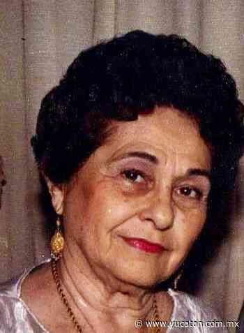 Obituario: María Concepción Canto Catala, viuda de De Zavala - El Diario de Yucatán